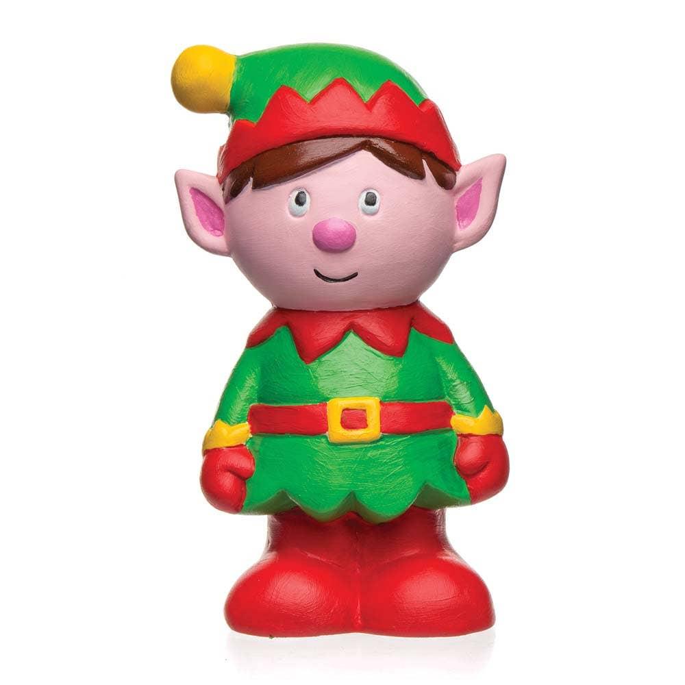 christmas elf ceramic coin banks baker ross