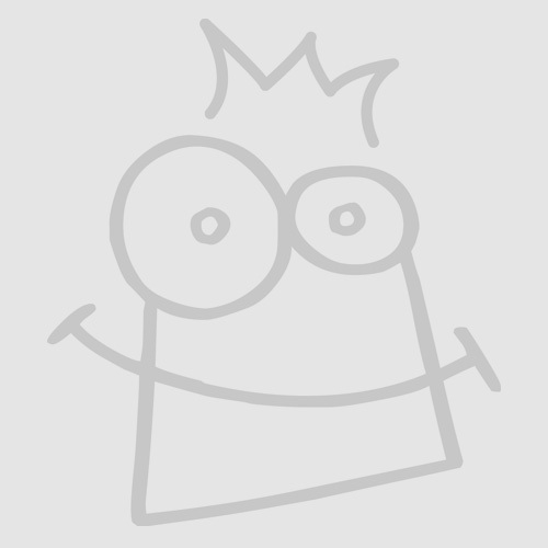 Stained Glass Effect Cross Colour-in Window Decorations