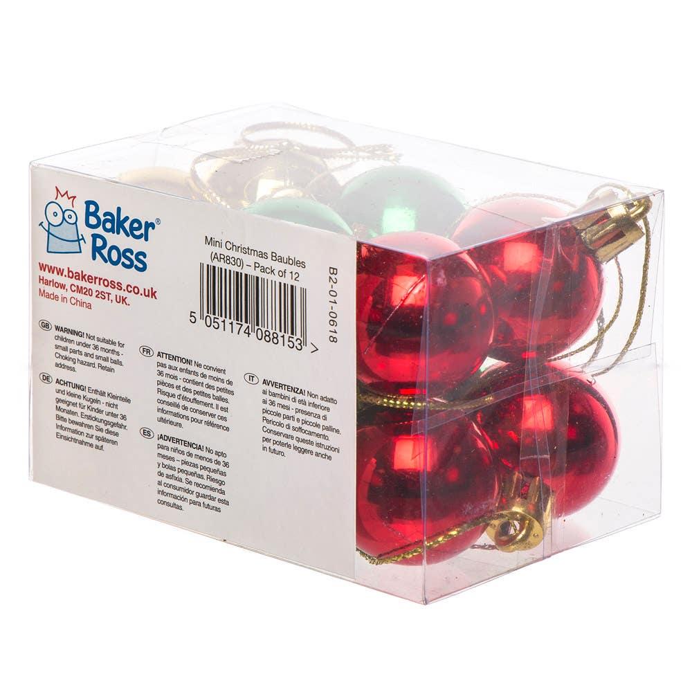Mini Christmas Baubles - Baker Ross